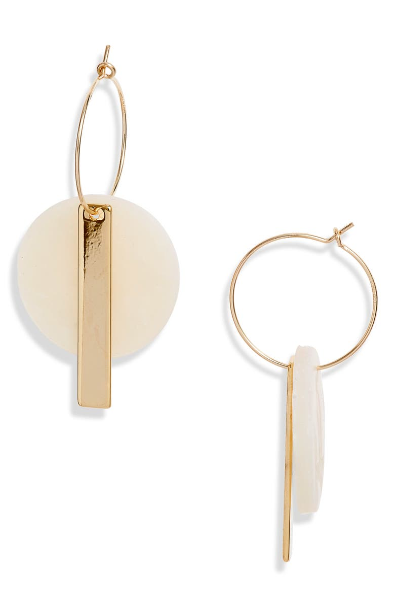 HIGHLOW JEWELRY Redux Drop Earrings, Main, color, GOLD