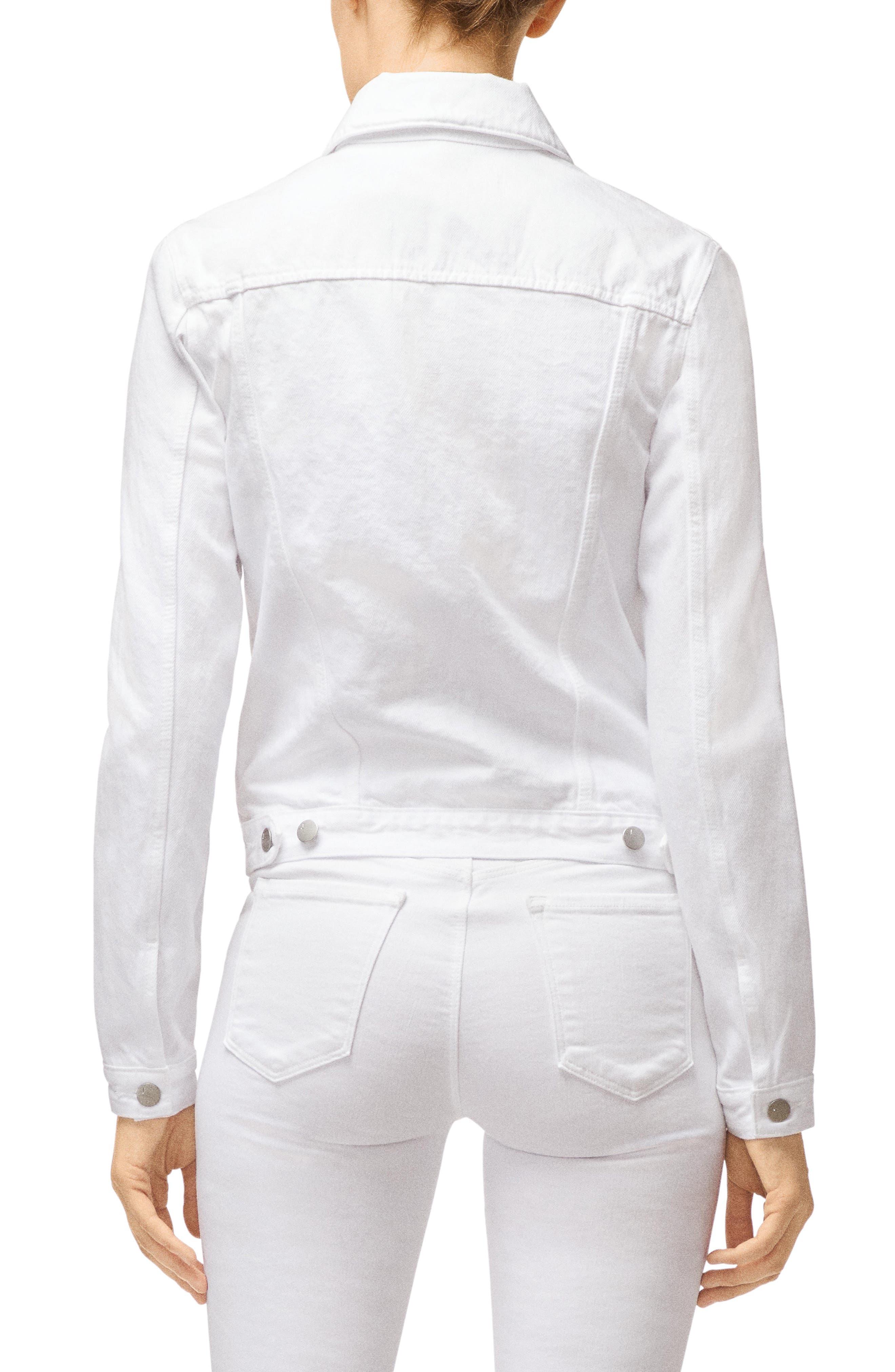 J Brand Coats Harlow Shrunken Denim Jacket