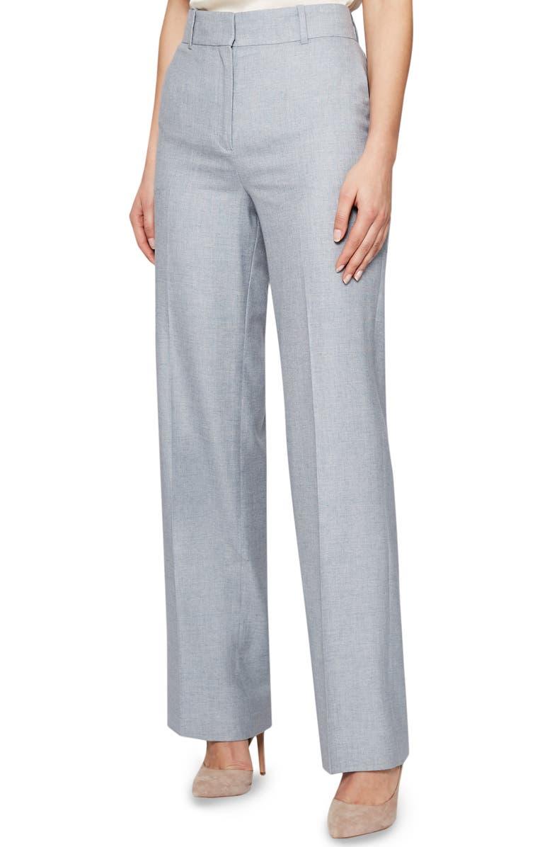 REISS Essie Front Pleat Pants, Main, color, 430