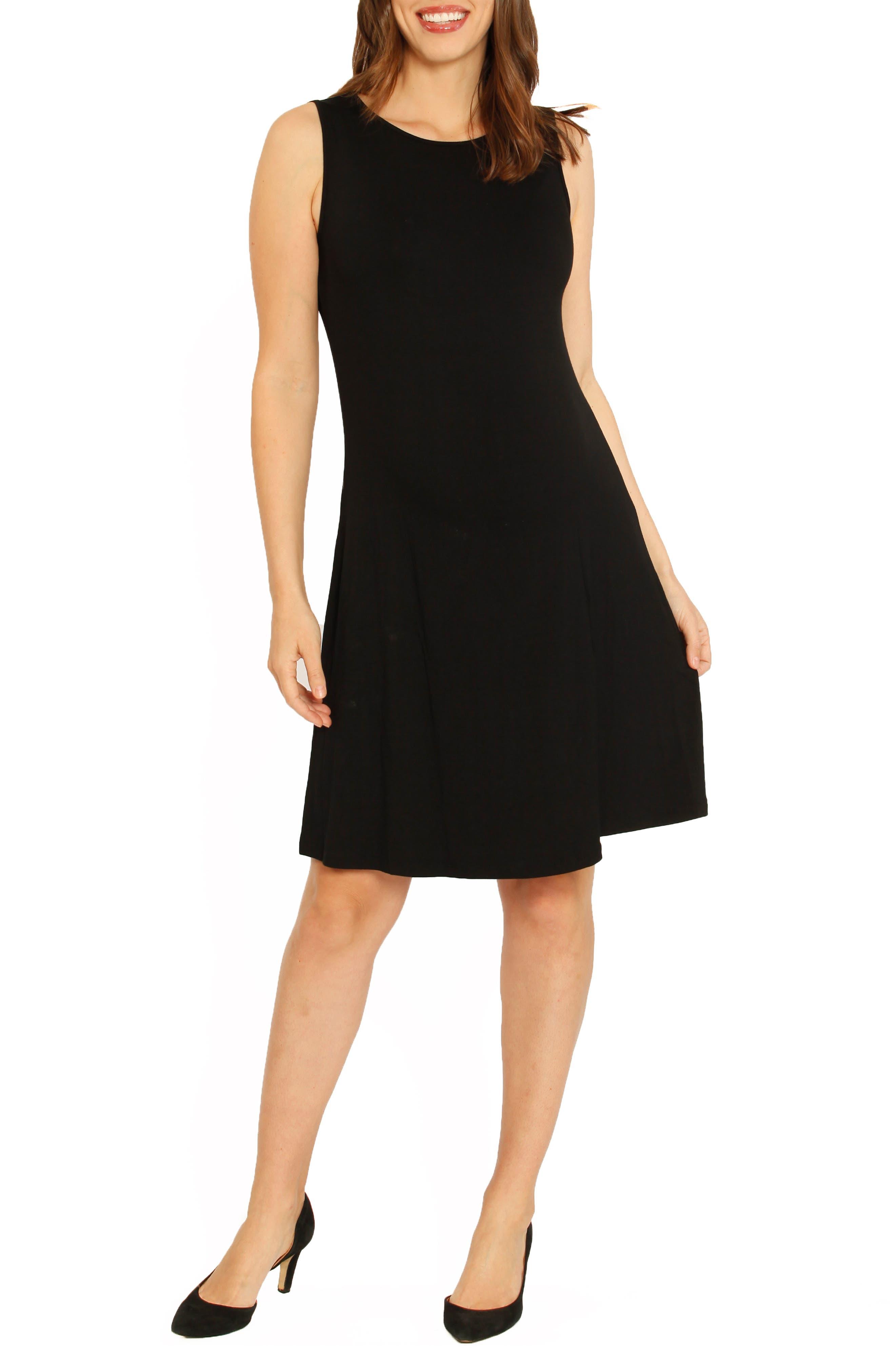 Angel Maternity Maternity Shift Dress, Black