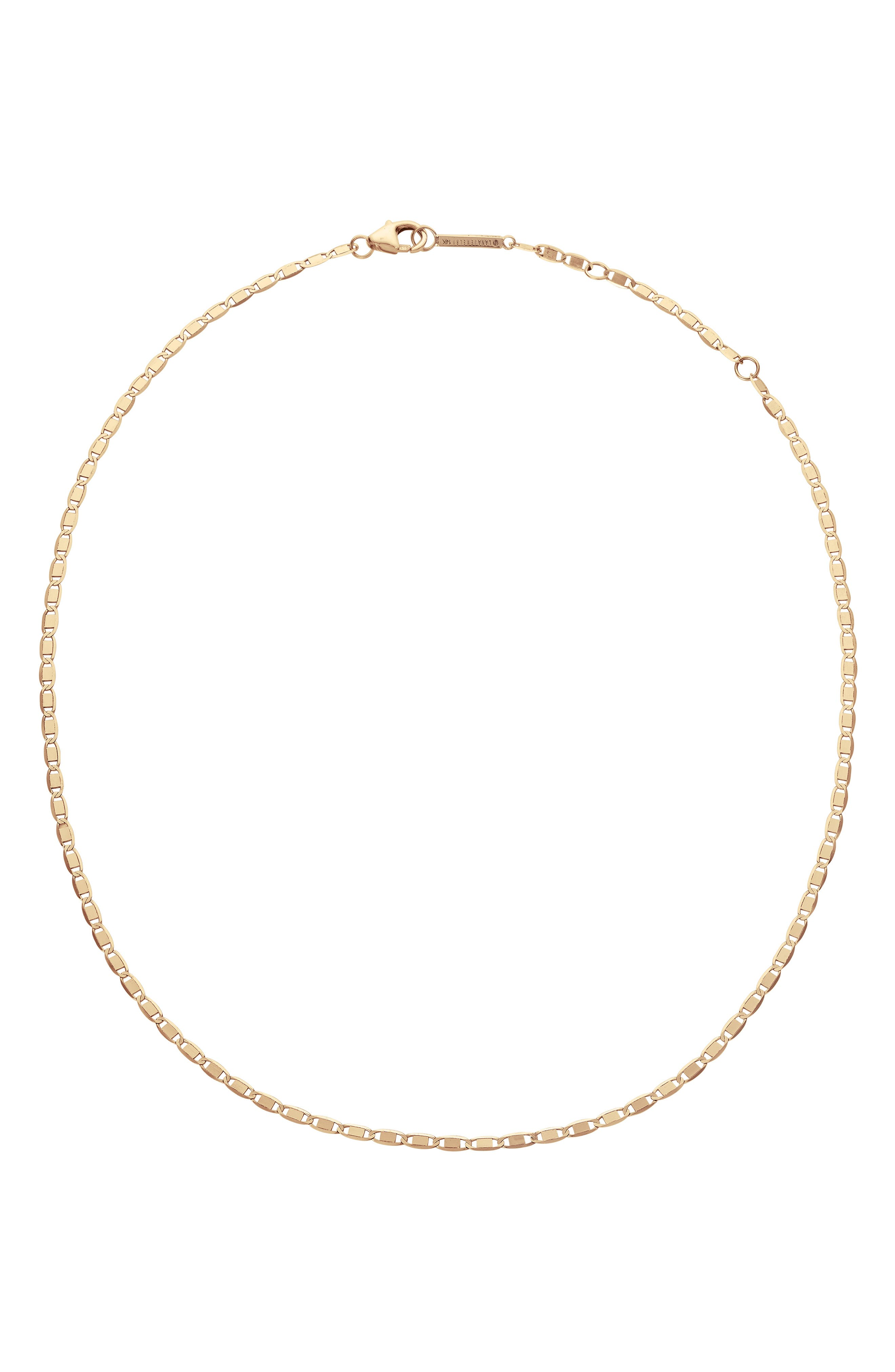 Nude Square Choker Necklace