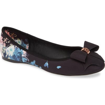 Ted Baker London Suallip Flat- Black