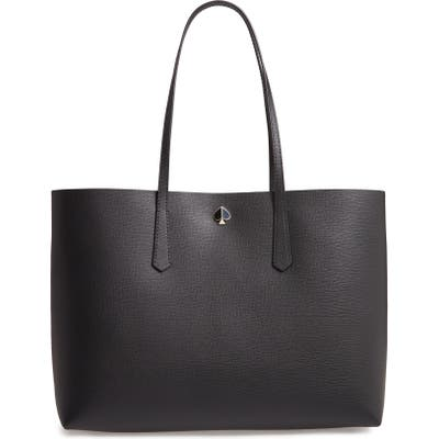 Kate Spade New York Large Molly Leather Tote - Black