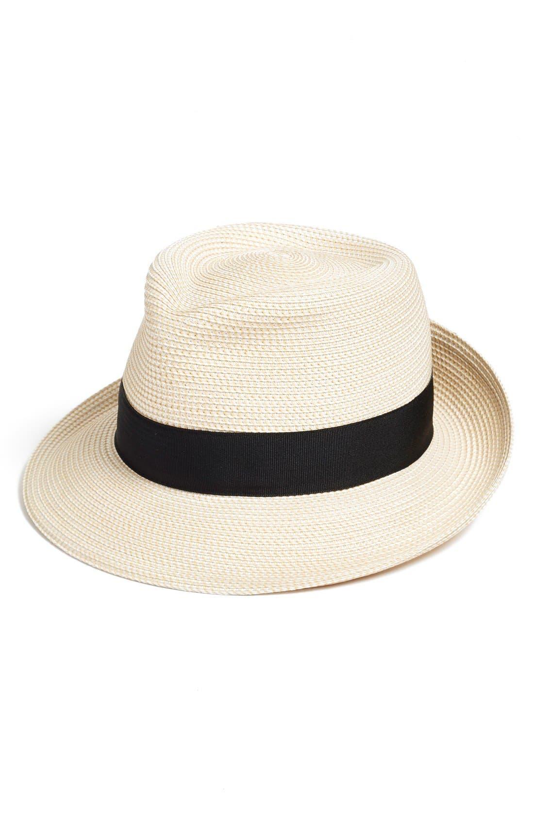 Classic Squishee Packable Fedora Sun Hat