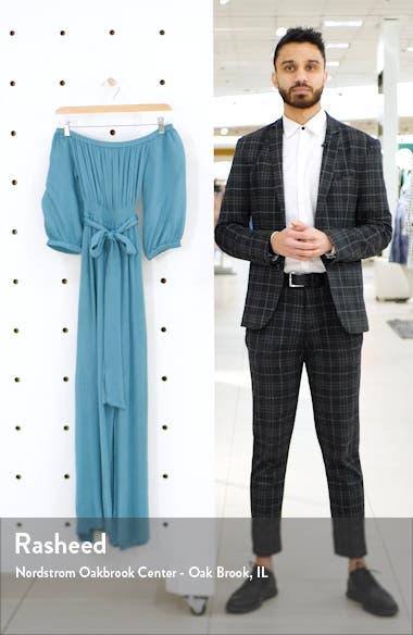 Kylie Off the Shoulder Midi Dress, sales video thumbnail