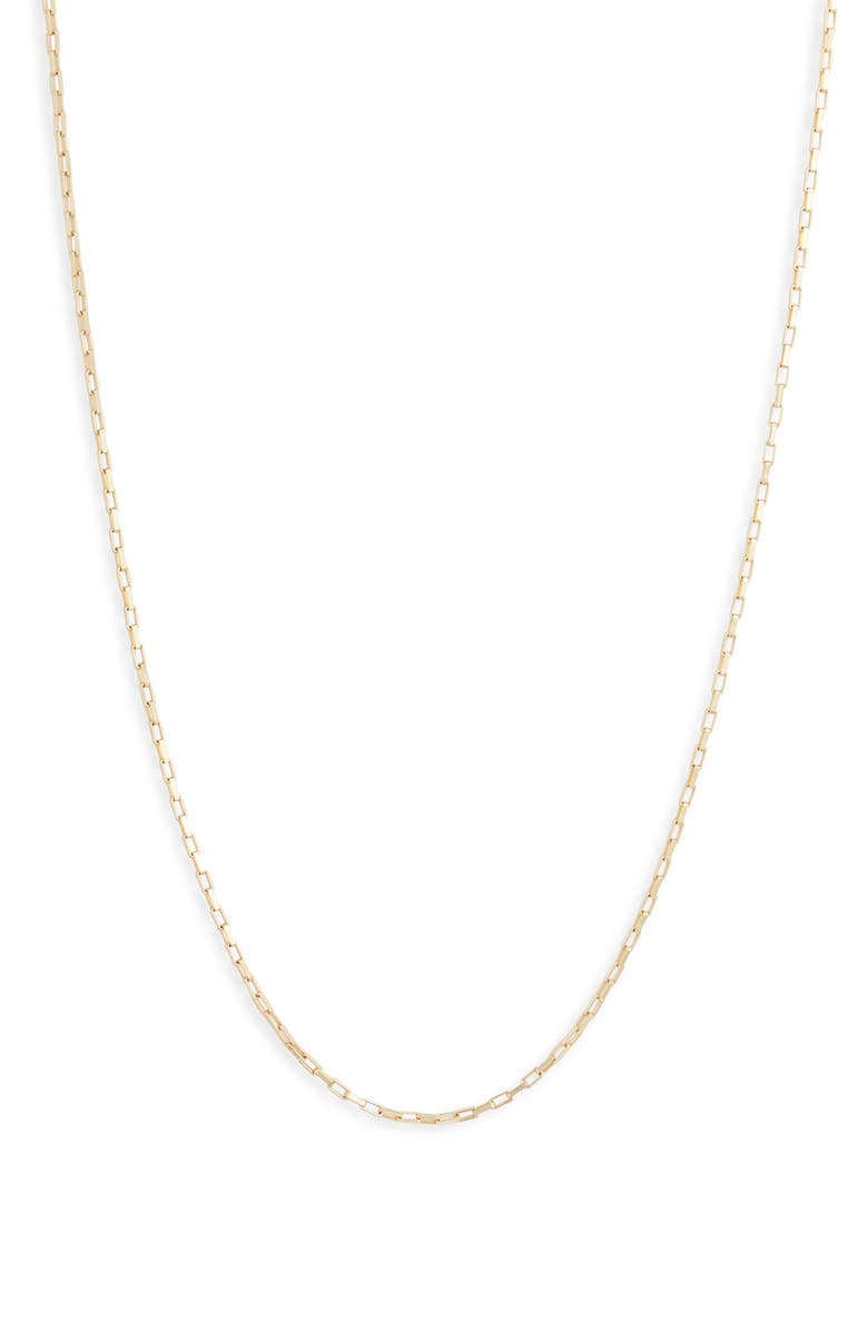Adina S Jewels Dainty Box Chain Necklace Nordstrom