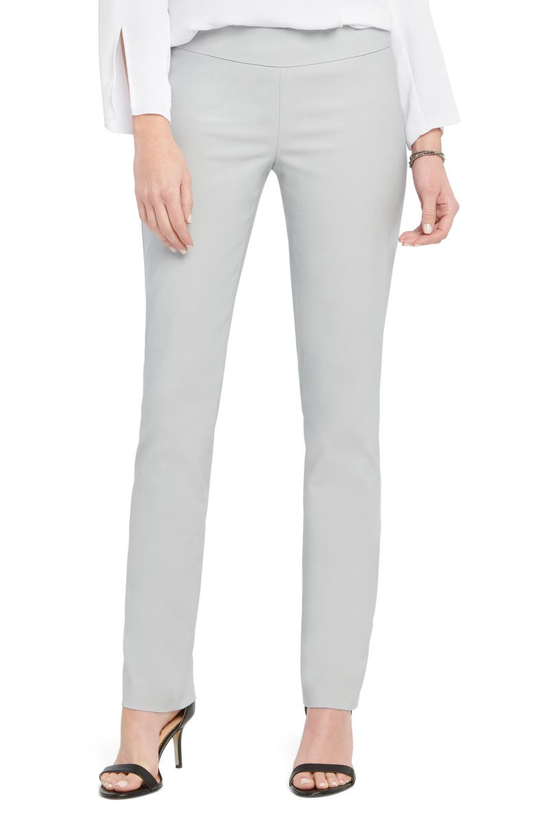 NIC+ZOE Wonderstretch Straight Leg Pants, Main, color, NO_COLOR