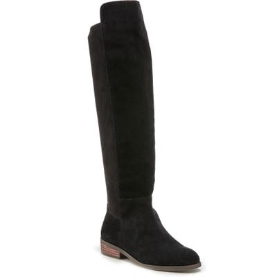 Sole Society Calypso Over The Knee Boot- Black