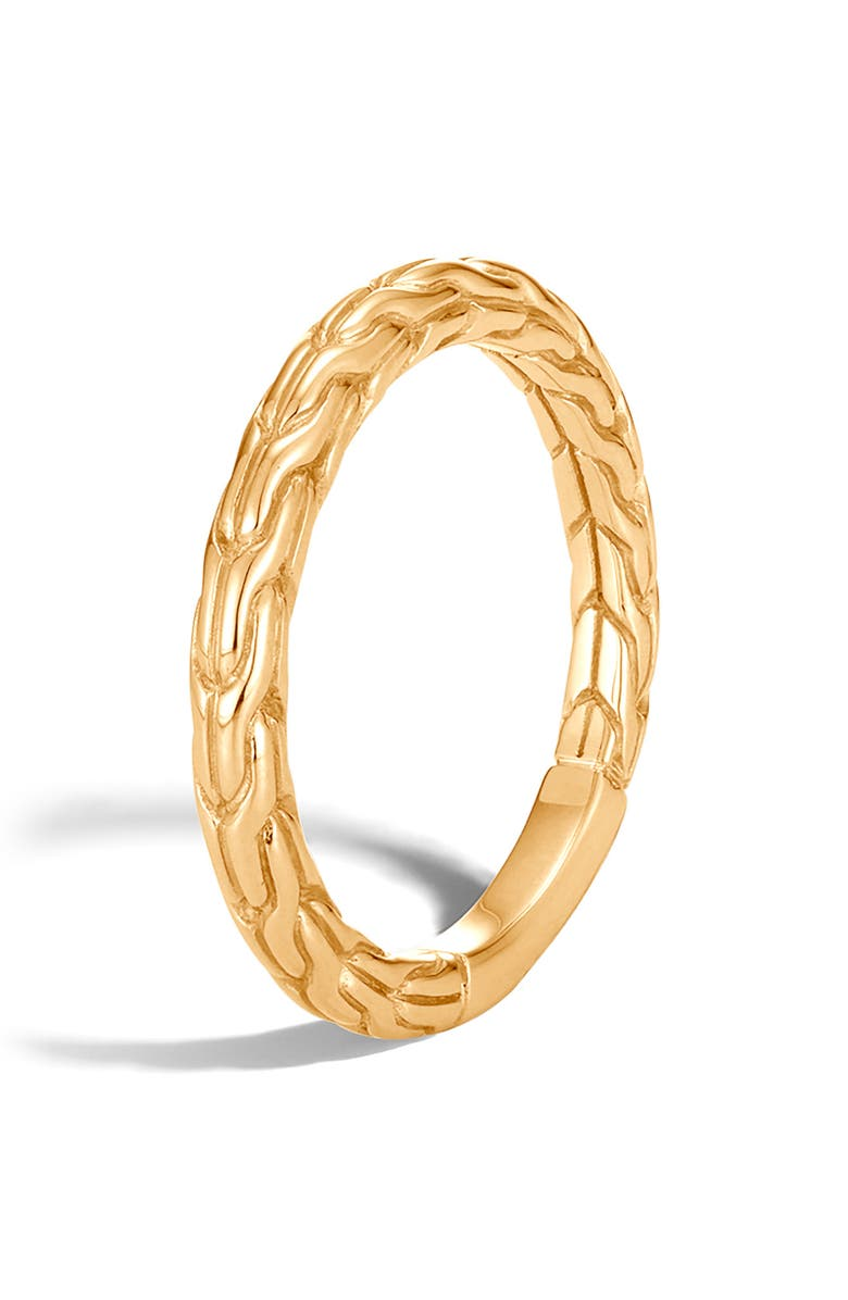 JOHN HARDY Classic Chain Band Ring, Main, color, 710