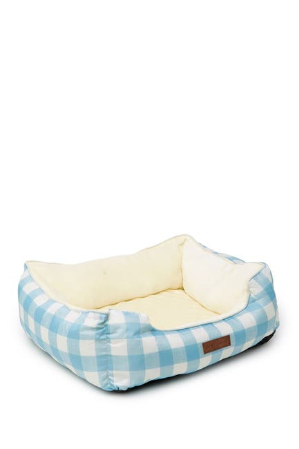 Image of Beatrice Home Baby Blue La Buffalo Check Cuddler