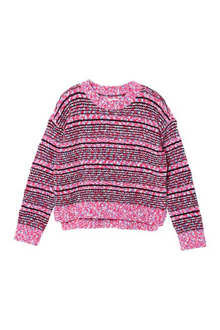 Image of Design History Marled Knit Crew Neck Sweater