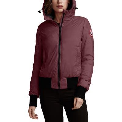 Canada Goose Dore Down Hooded Jacket, (14-16) - Purple