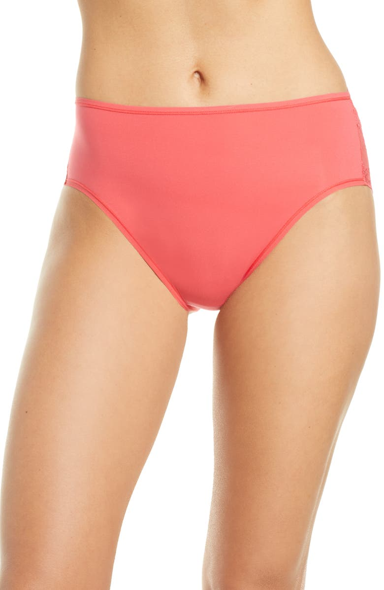 NATORI Bliss Perfection French Cut Briefs, Main, color, HOT TAMALE