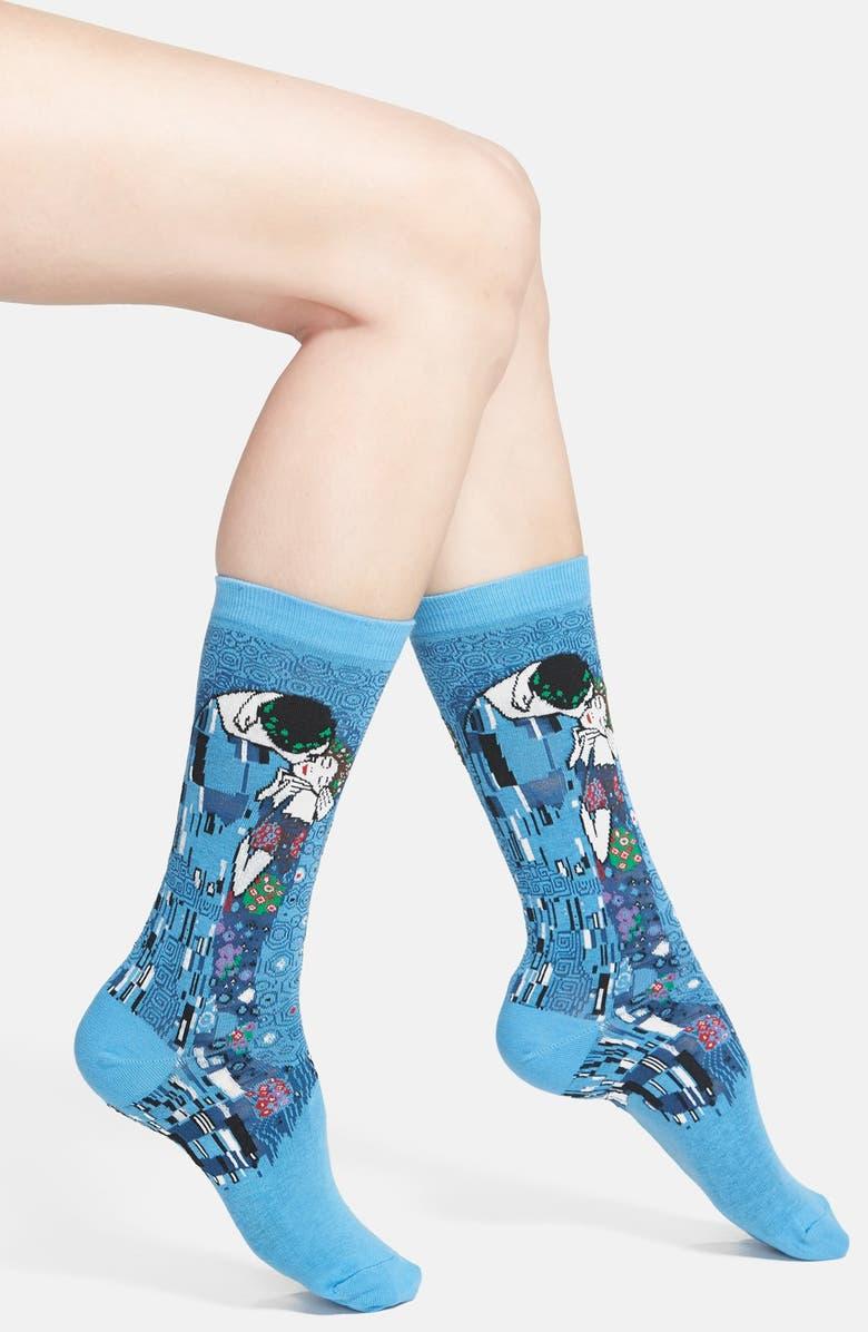 HOT SOX 'The Kiss' Trouser Socks, Main, color, 405