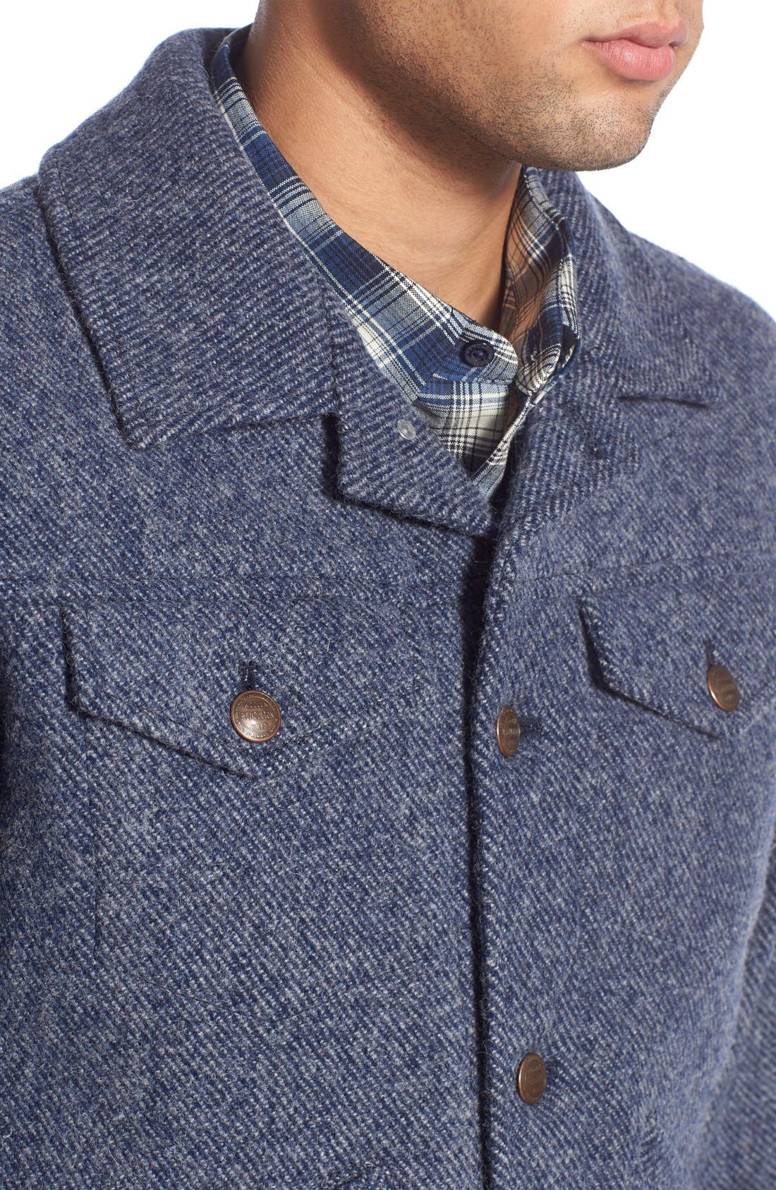 ,                             Wool Twill Jacket,                             Alternate thumbnail 5, color,                             410