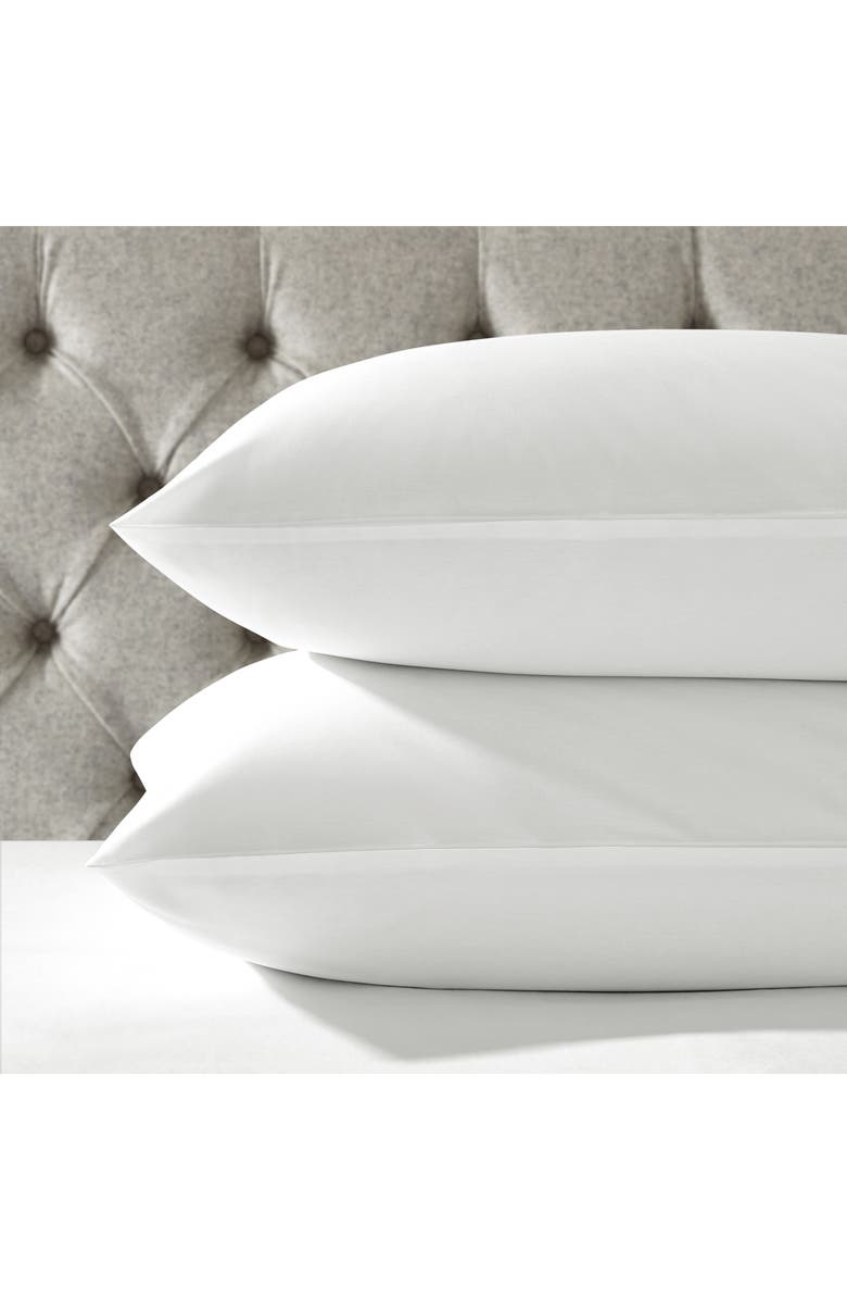 THE WHITE COMPANY Egyptian Cotton Sham, Main, color, WHITE/WHITE