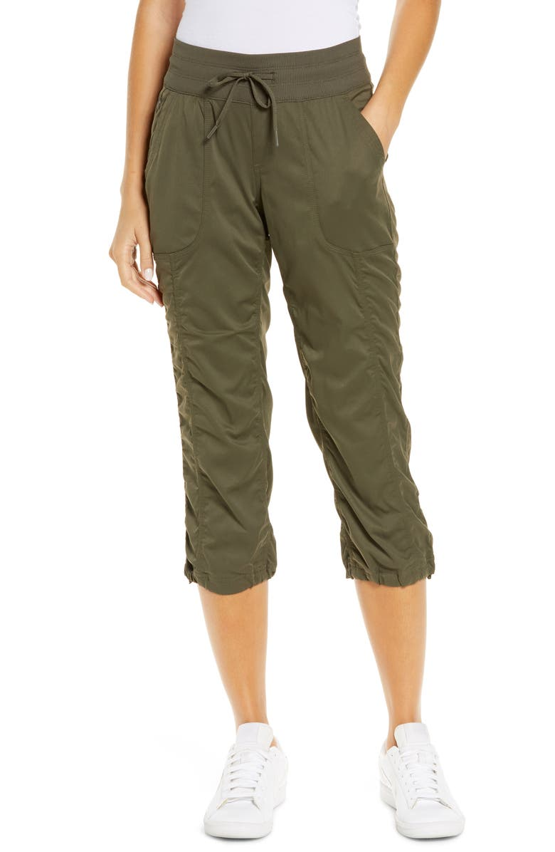 THE NORTH FACE Aphrodite 2.0 Capri Pants, Main, color, NEW TAUPE GREEN