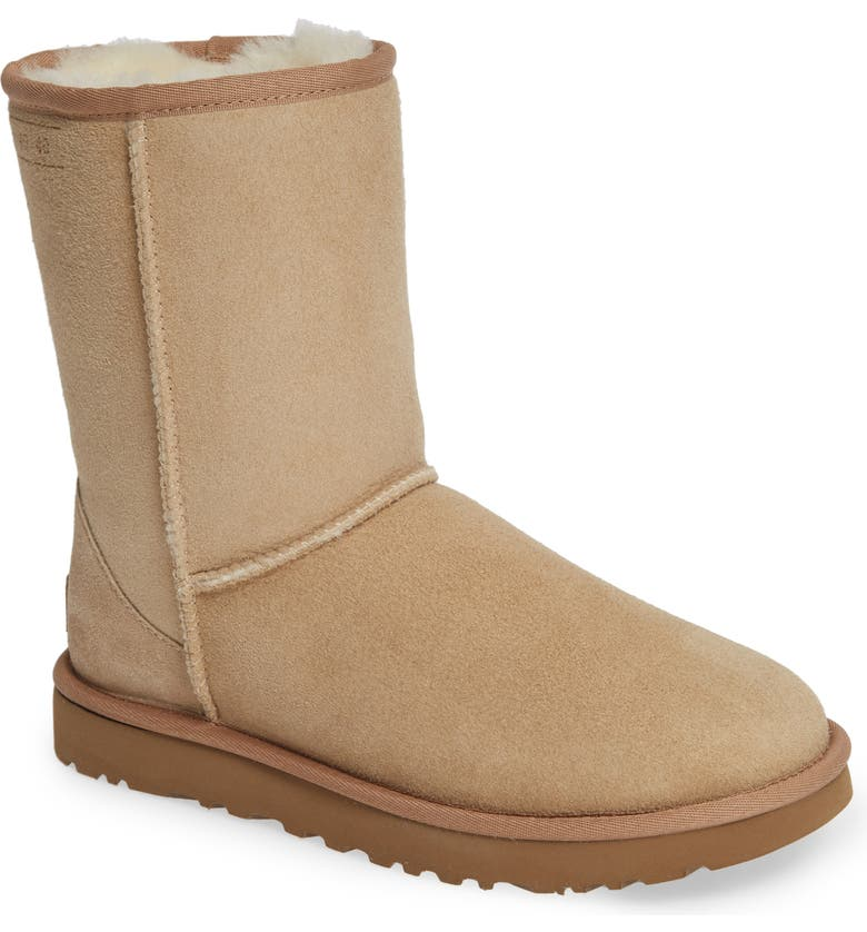 UGG<SUP>®</SUP> Classic Short 40:40:40 Genuine Shearling Boot, Main, color, 251