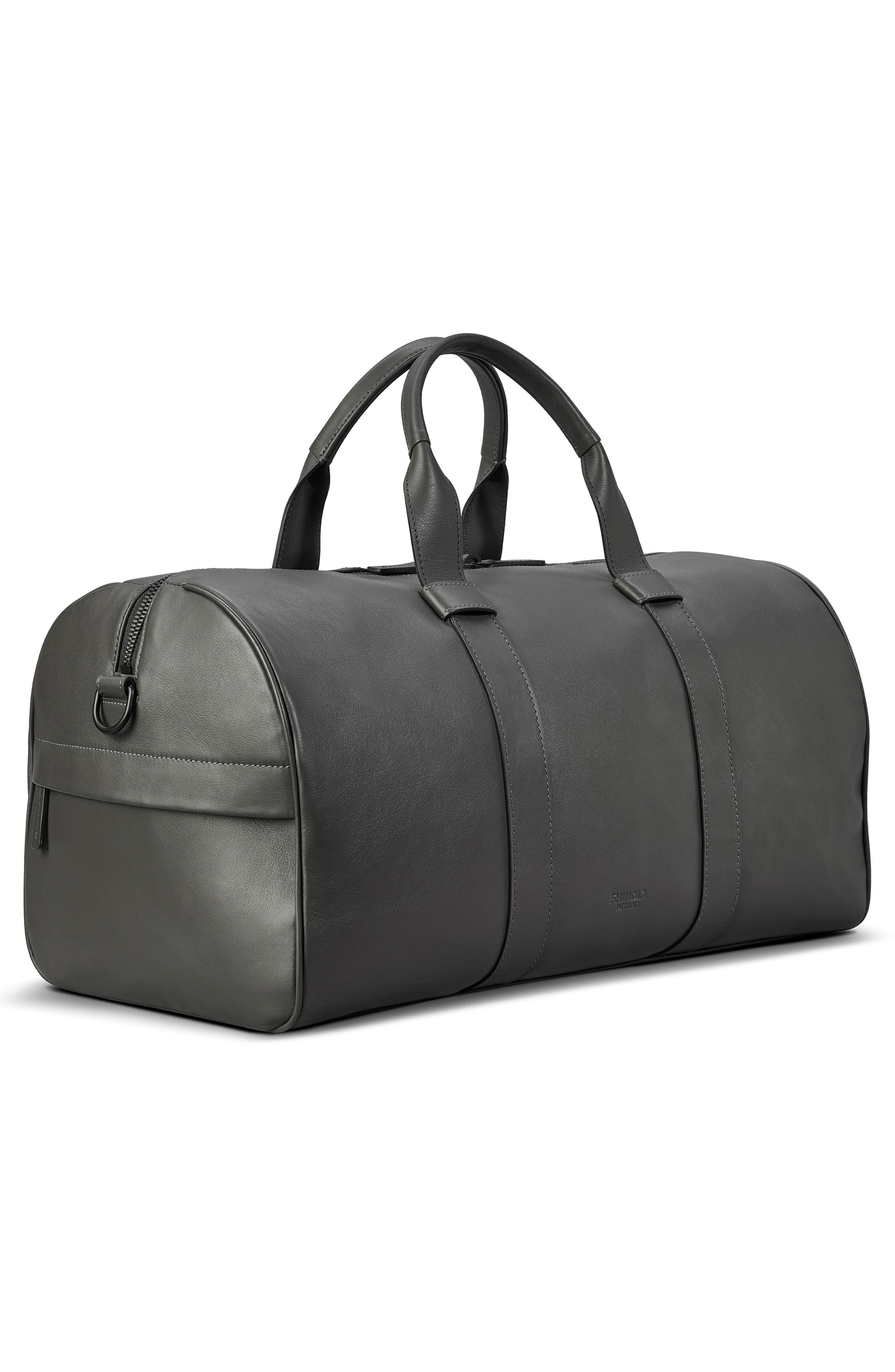 Shinola Bags Guardian Leather Duffle Bag