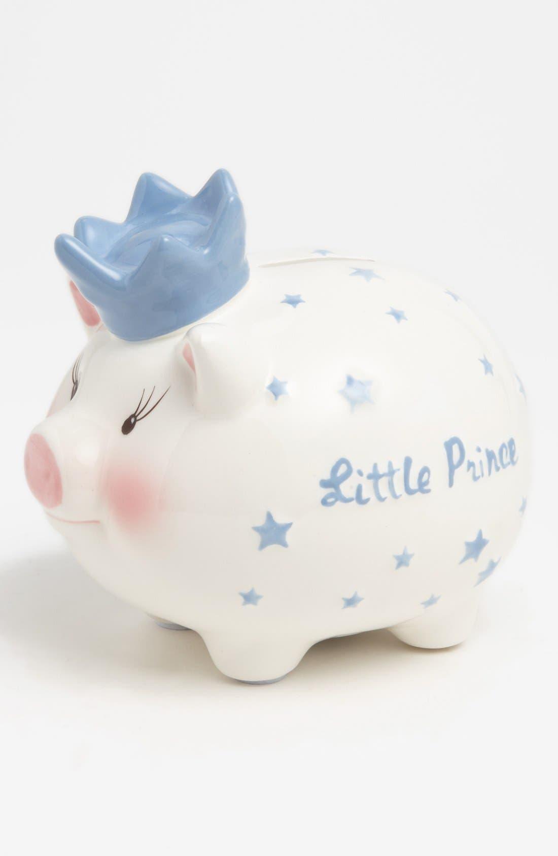 'Little Prince' Bank, Main, color, BLUE