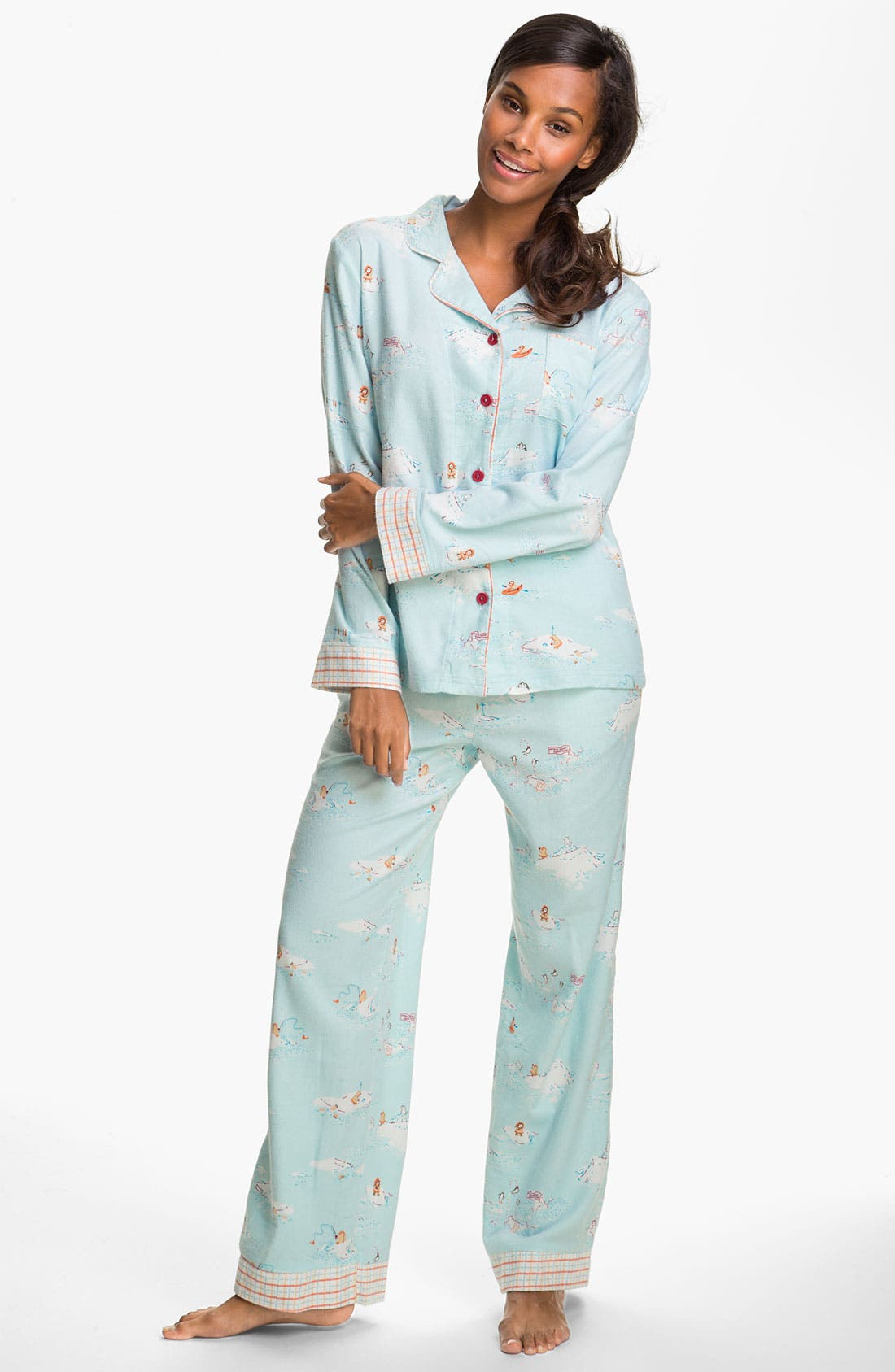 ,                             Flannel Pajamas,                             Main thumbnail 44, color,                             451