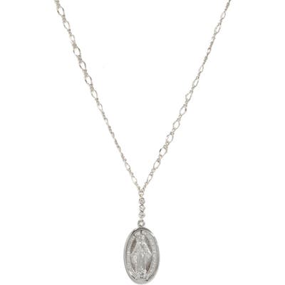Ettika Medallion Pendant Necklace