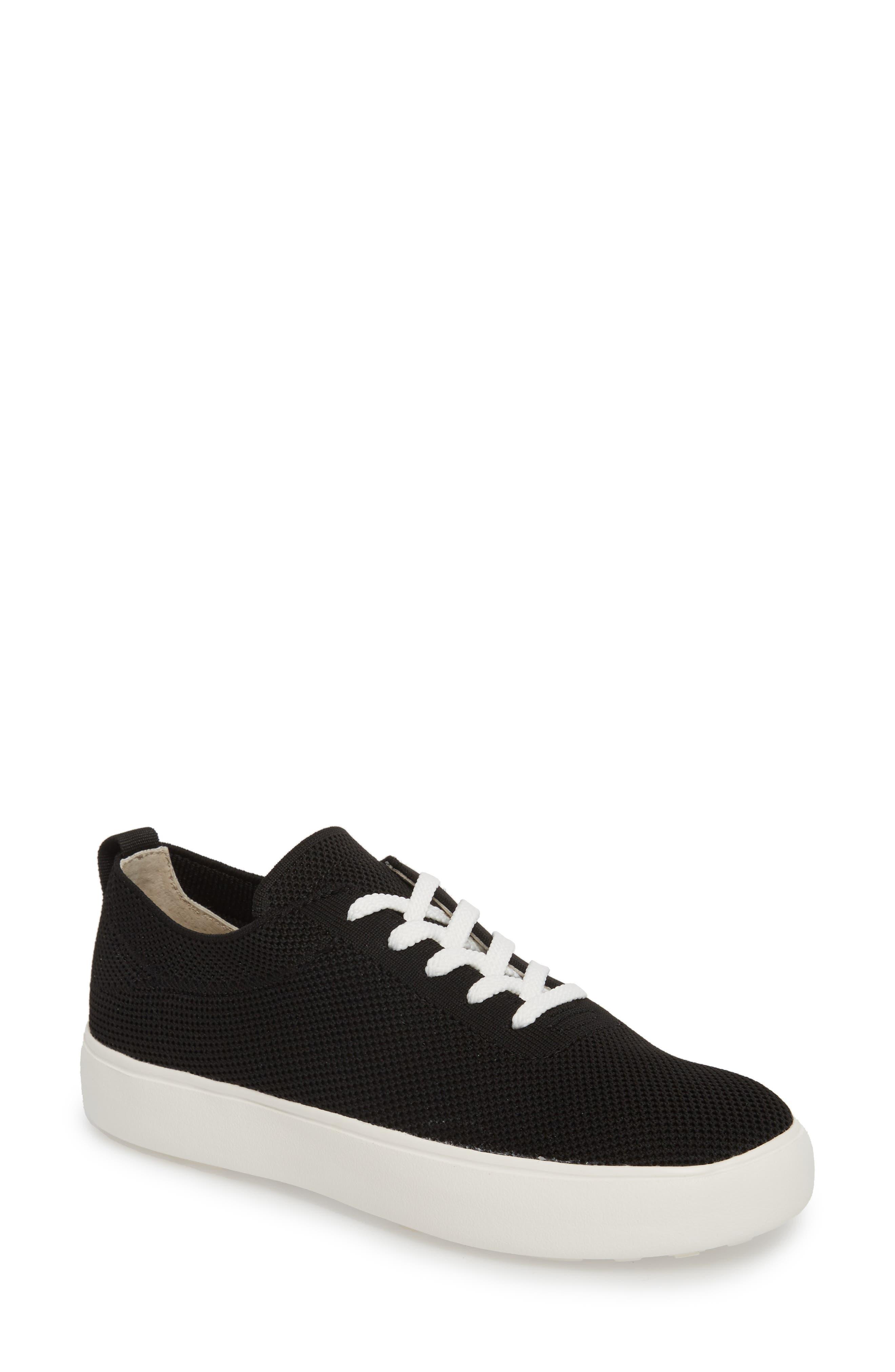 Hope Sneaker, Main, color, BLACK