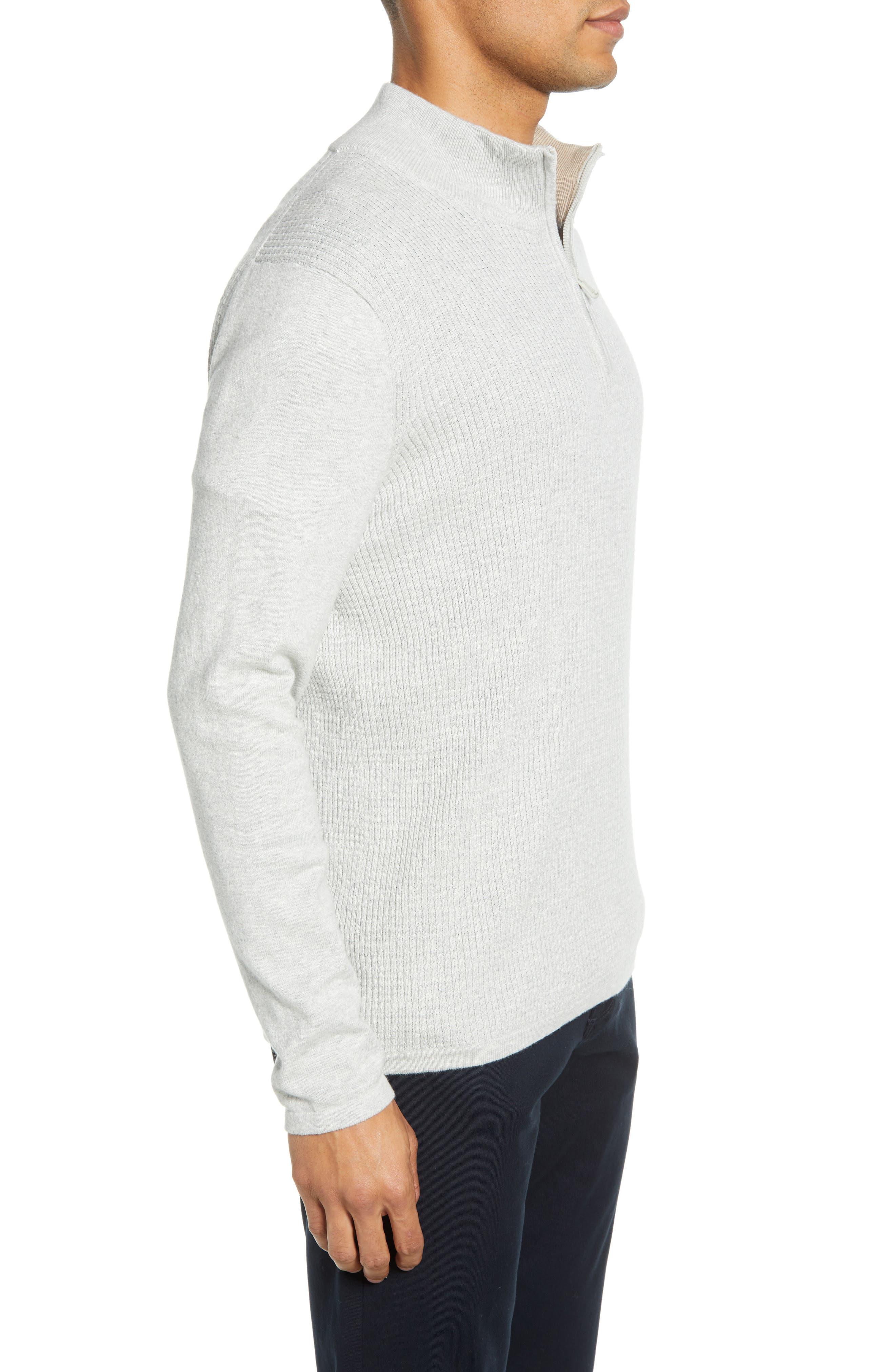 ,                             Higgins Quarter Zip Sweater,                             Alternate thumbnail 9, color,                             102