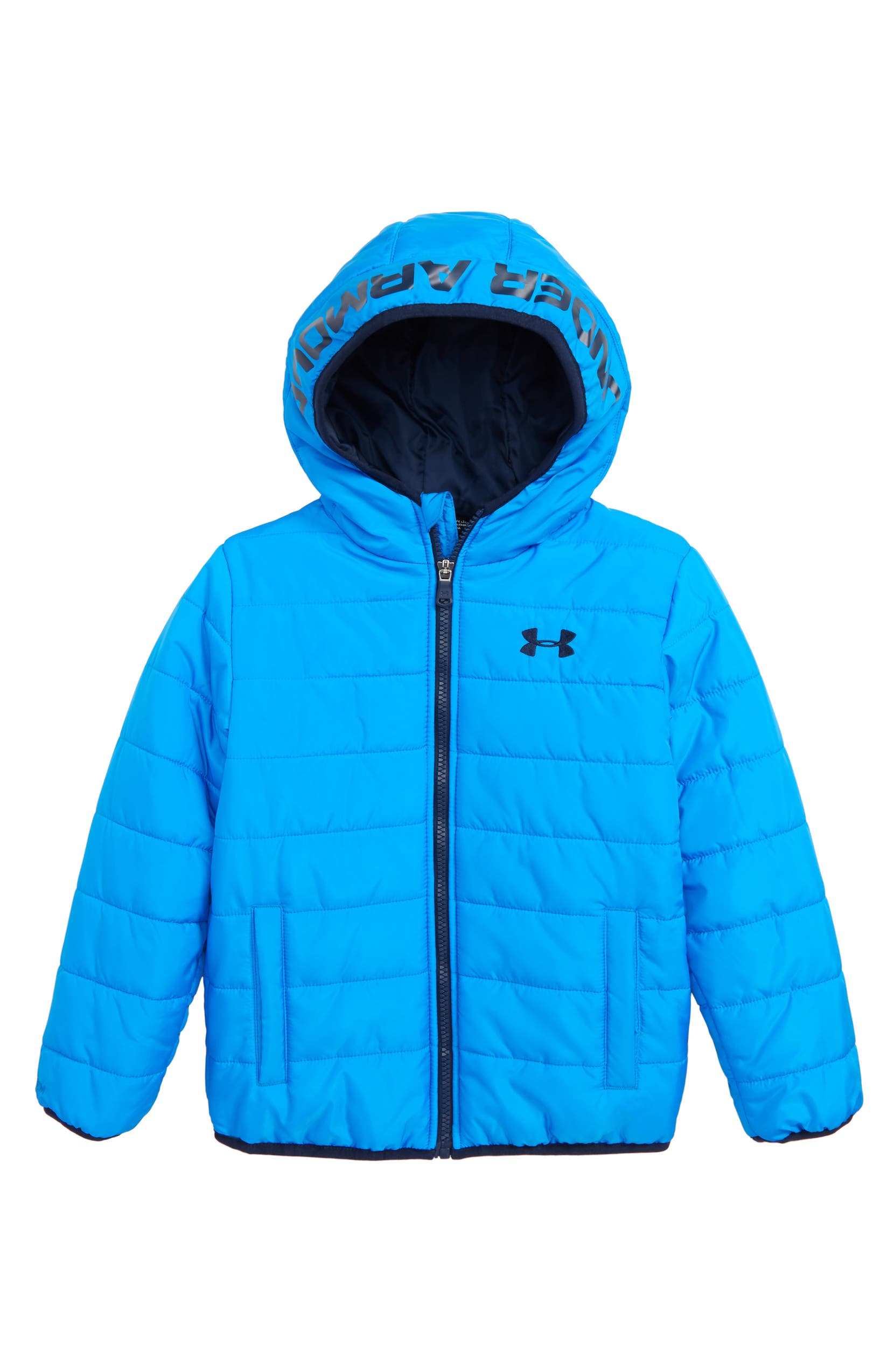 745b7d41 Under Armour Pronto Water Repellent Hooded Puffer Jacket (Toddler ...