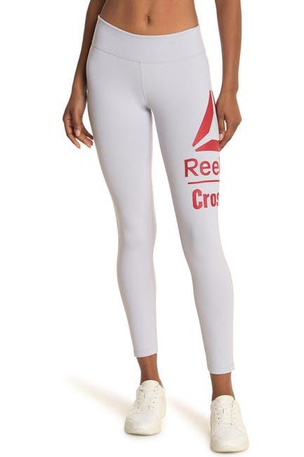 Image of Reebok Lux Crossfit Logo Leggings