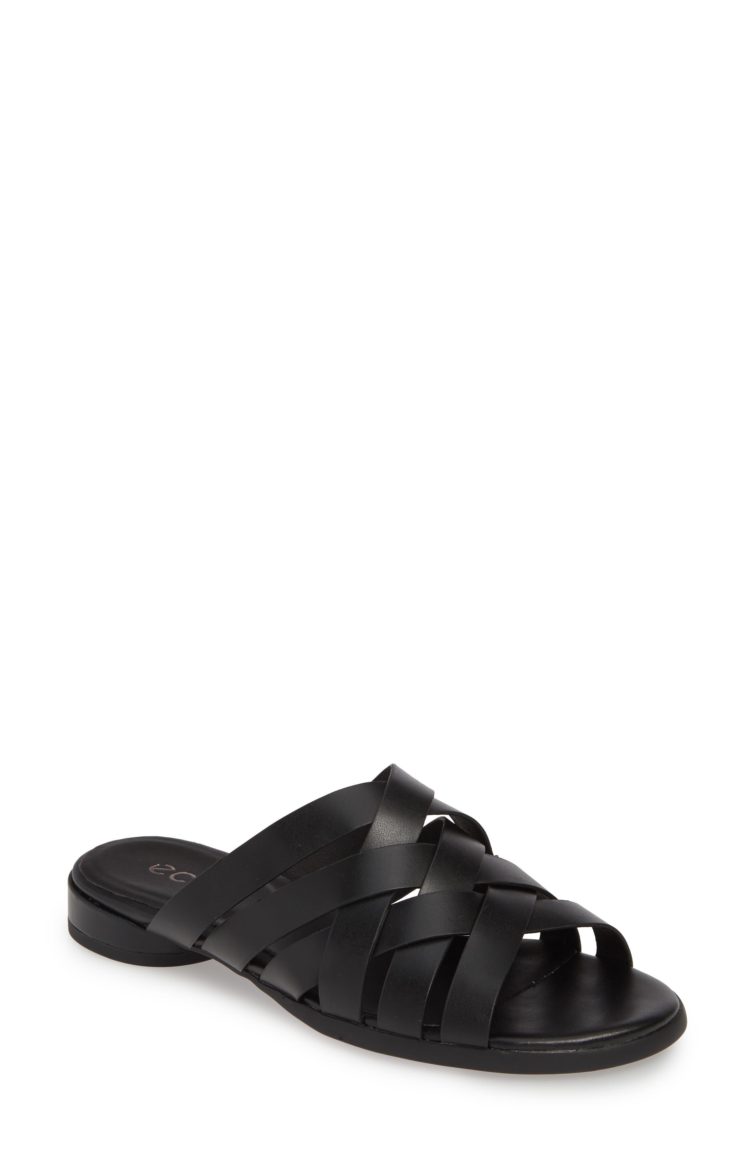 Women's Ecco Strappy Slide Sandal