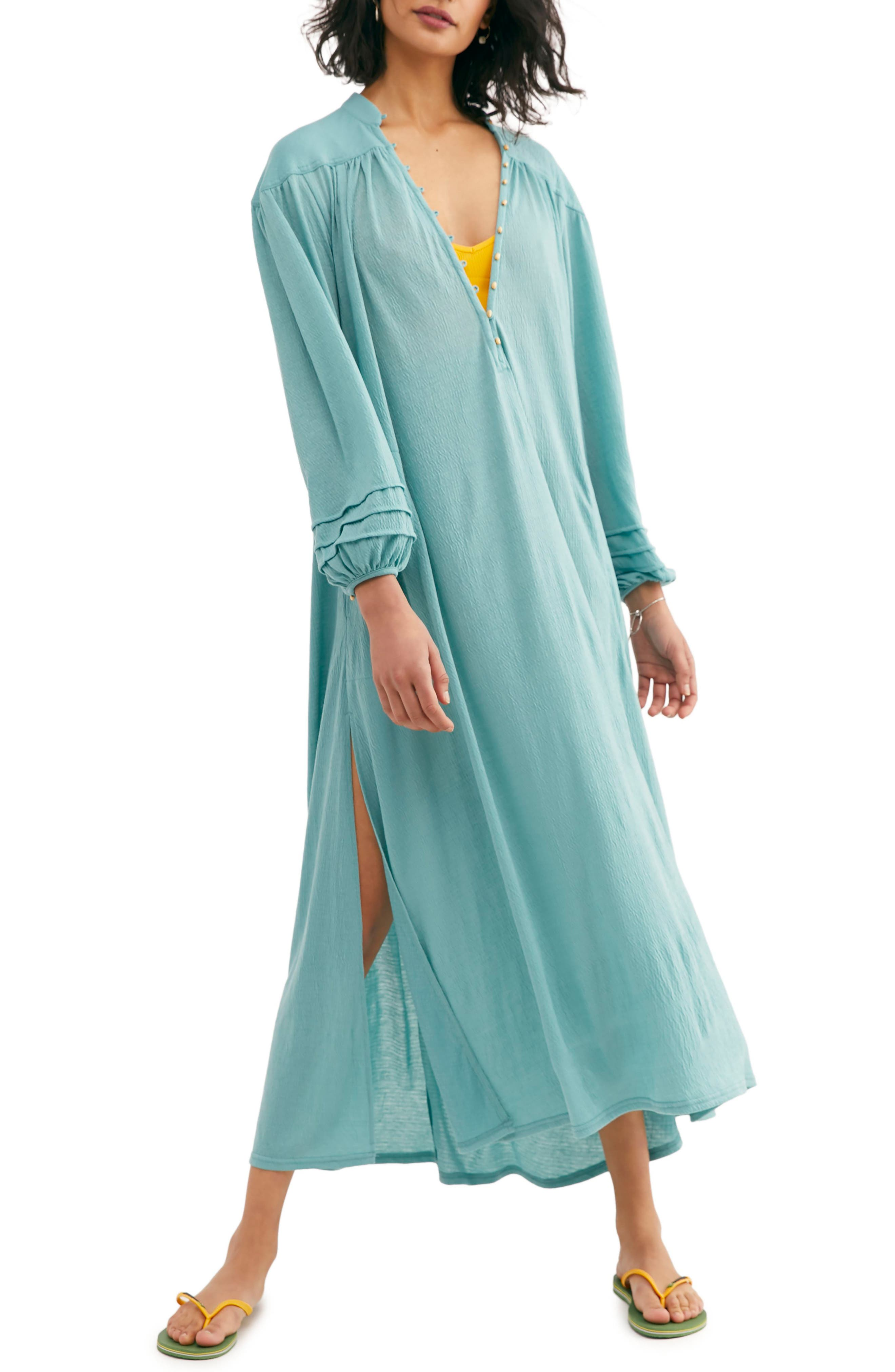 Endless Summer By Free People Primrose Maxi Dress, Green