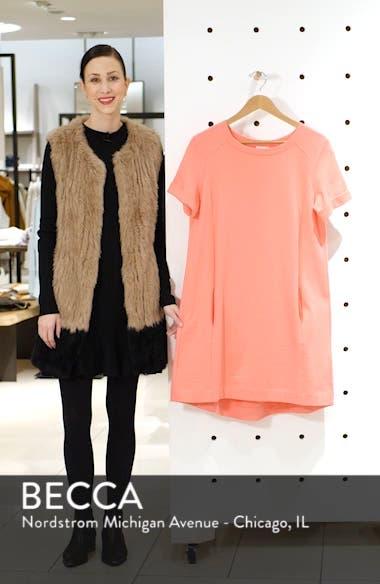 Short Sleeve Cotton Blend Dress, sales video thumbnail