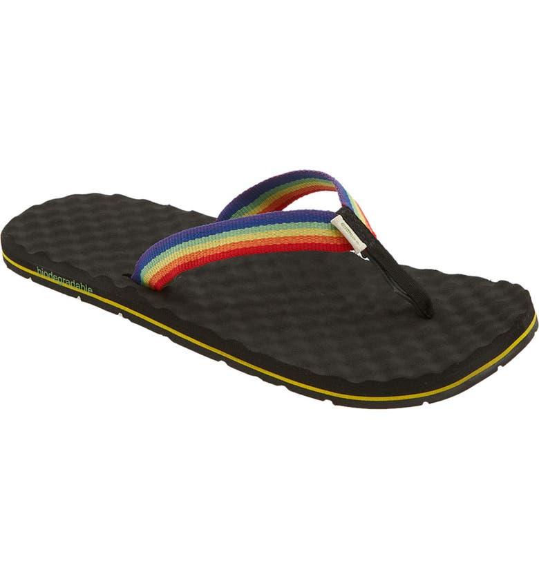 SIMPLE 'Flippee' Sandal, Main, color, 001