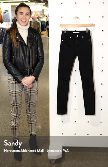 Ripped Ankle Skinny Jeans, sales video thumbnail