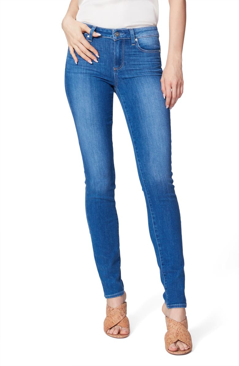 PAIGE Skyline Skinny Jeans, Main, color, FOREVER