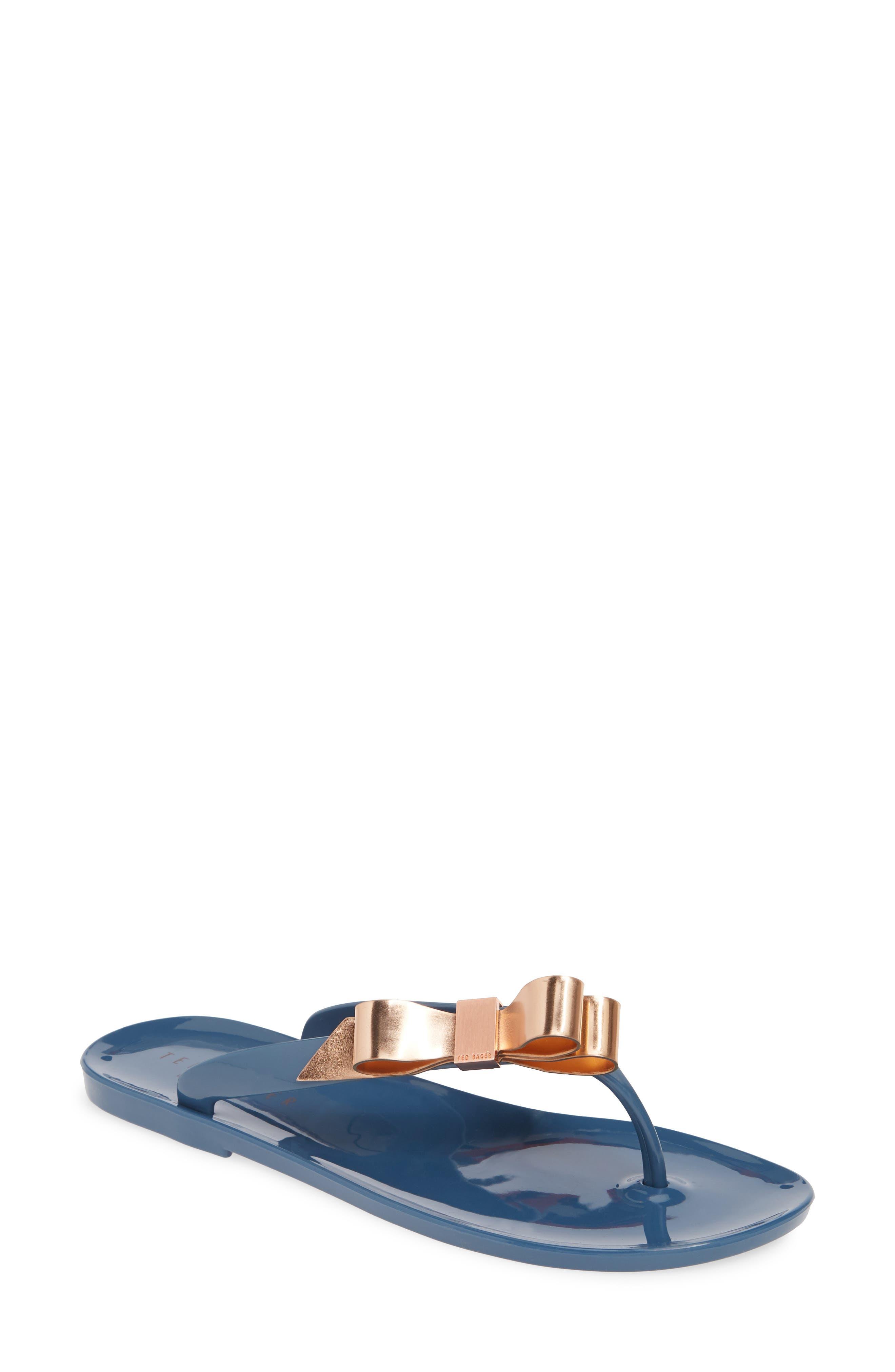 Ted Baker London Suszie Flip Flop, Blue