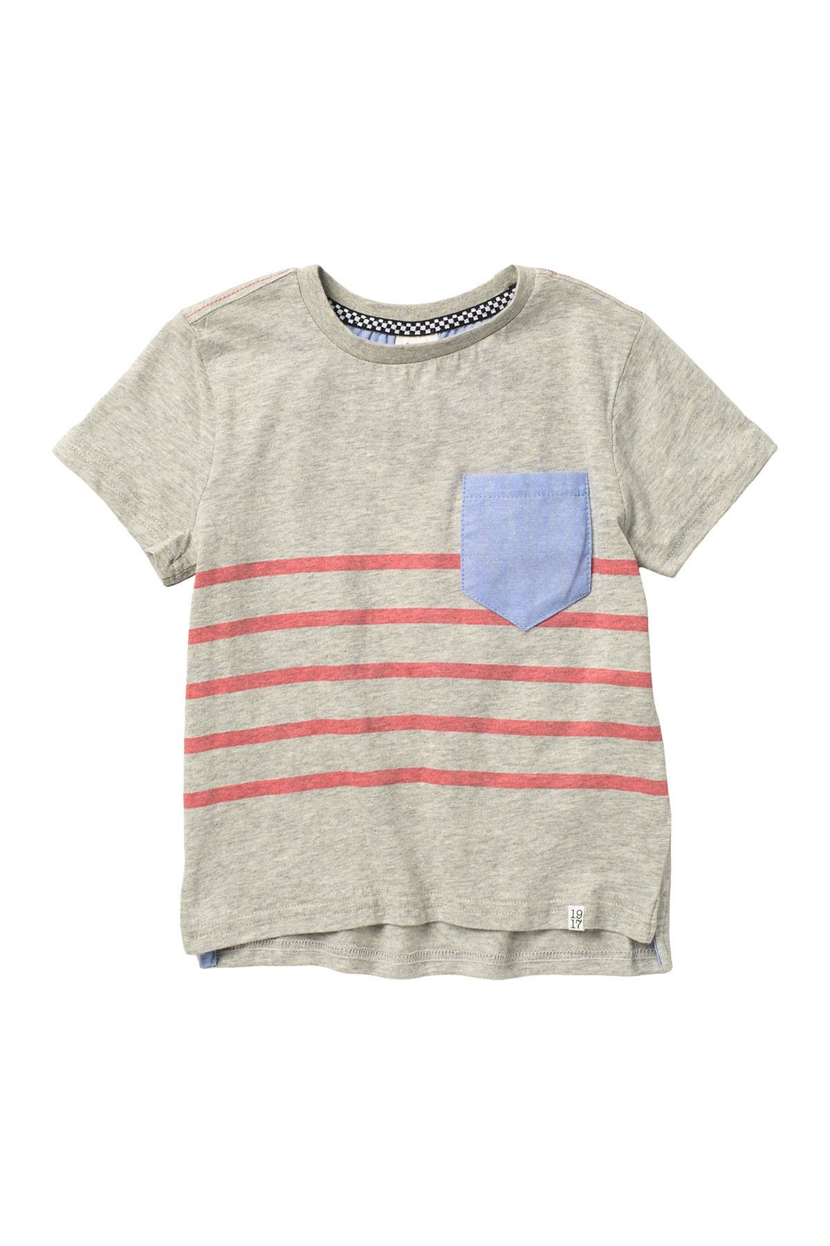 Image of Sovereign Code Tobias Striped Colorblock T-Shirt