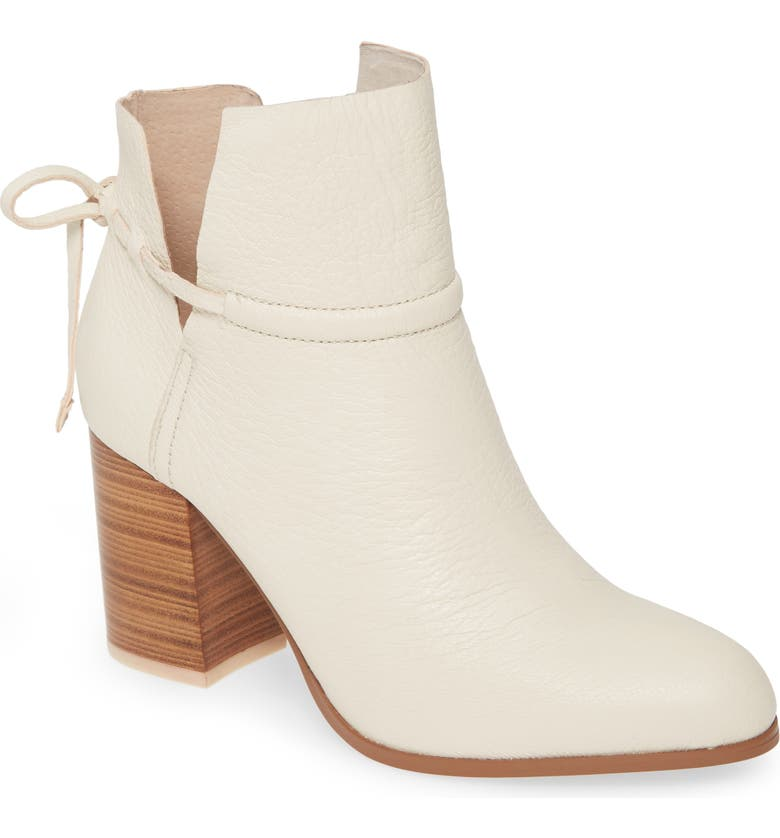 KELSI DAGGER BROOKLYN Welsey Bootie, Main, color, EGG SHELL LEATHER