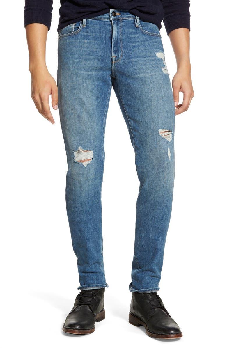 FRAME 'L'Homme' Slim Fit Jeans, Main, color, 403