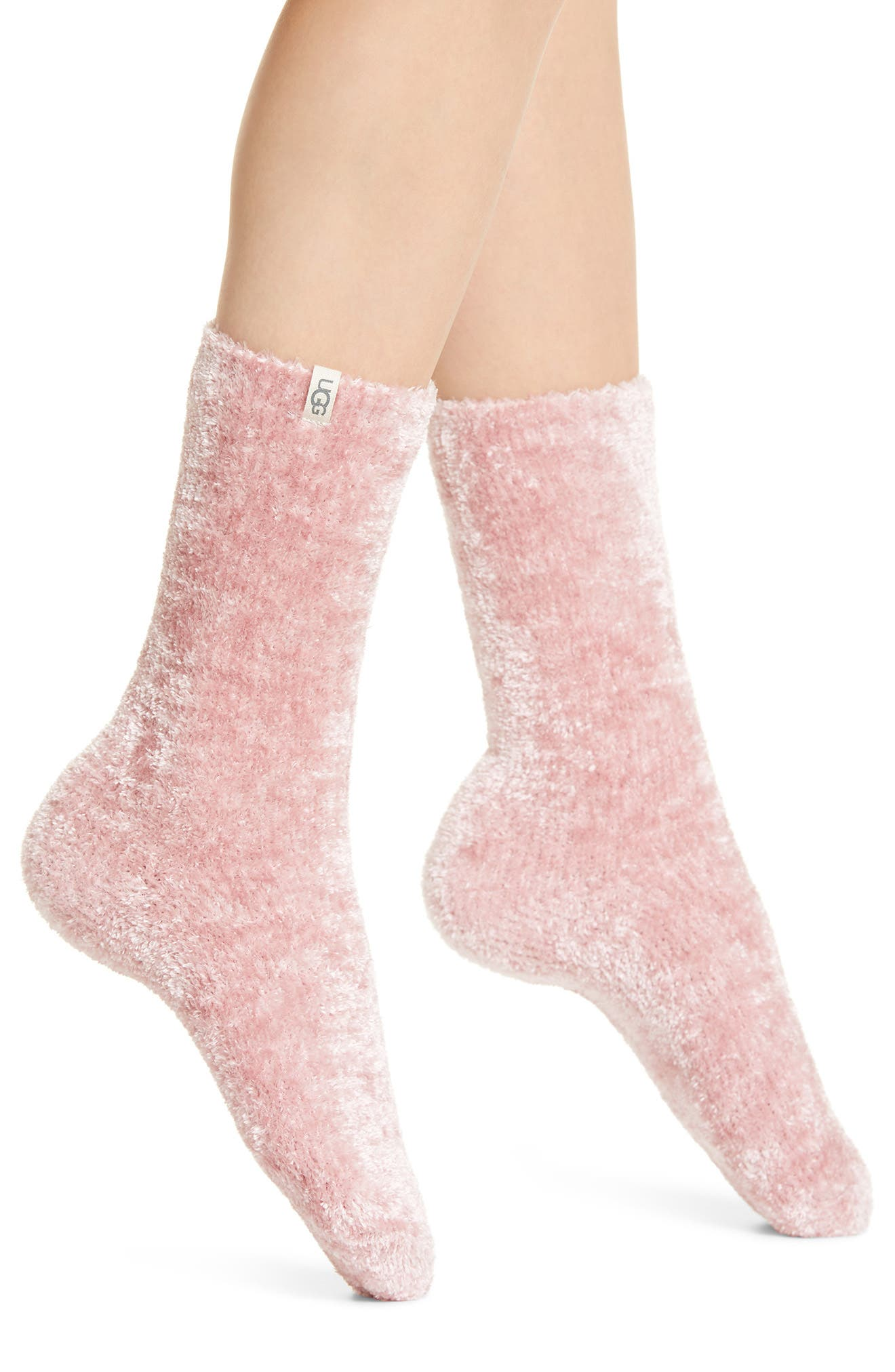 Keep your toes toasty warm with these fuzzy, stretchy socks. Style Name: UGG Leda Cozy Socks. Style Number: 5877157. Available in stores.