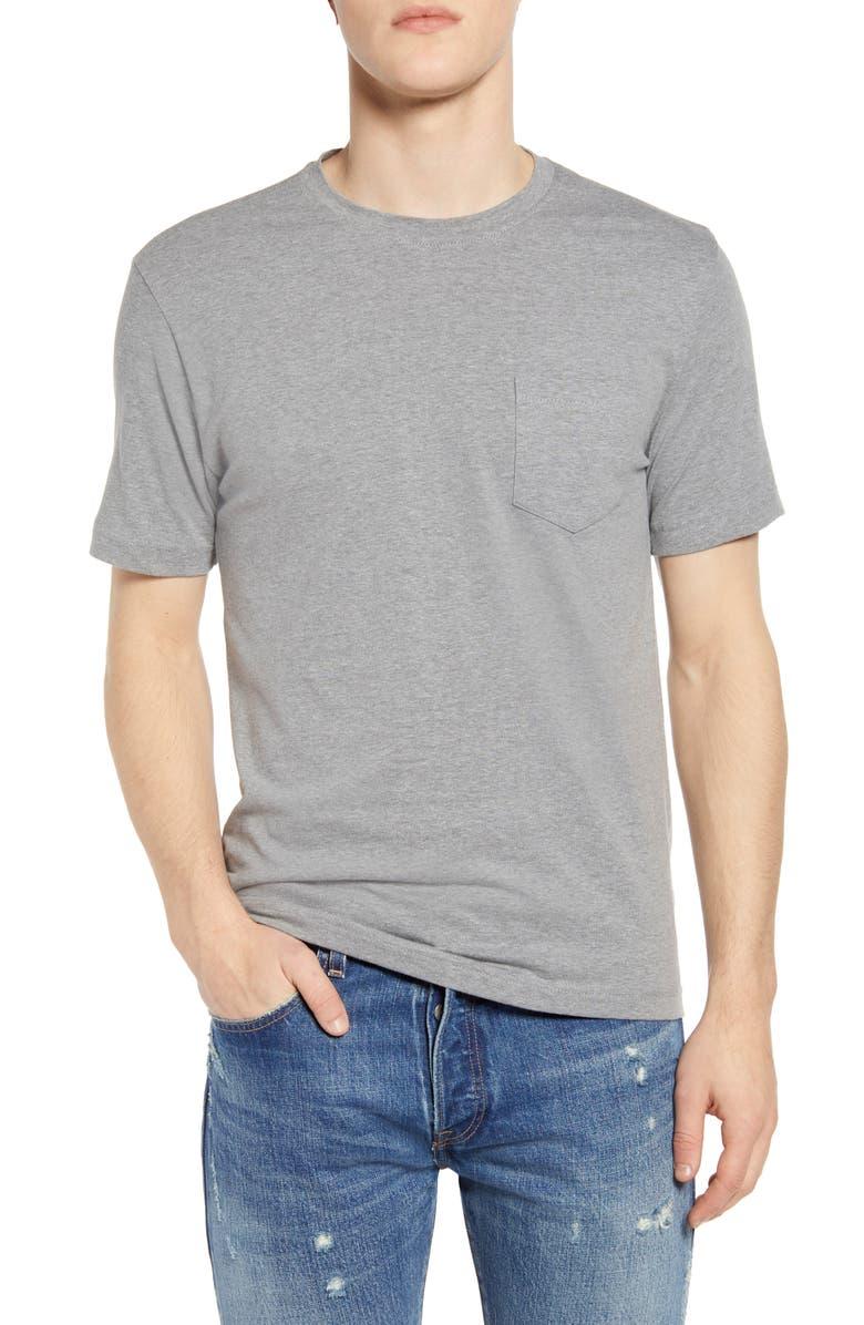 VINTAGE 1946 Heathered Stretch Pocket T-Shirt, Main, color, 030