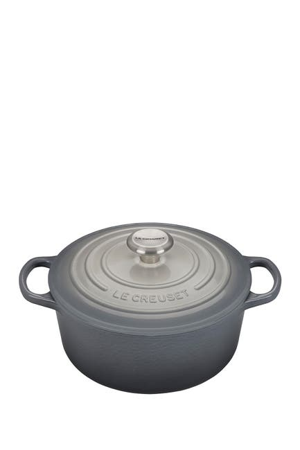 Image of Le Creuset Limited Time Grey Ombre 4.5 qt. Signature Round Dutch Oven