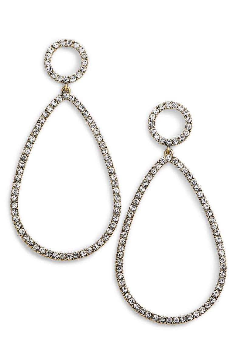 BAUBLEBAR Genevieve Hoop Earrings, Main, color, 719