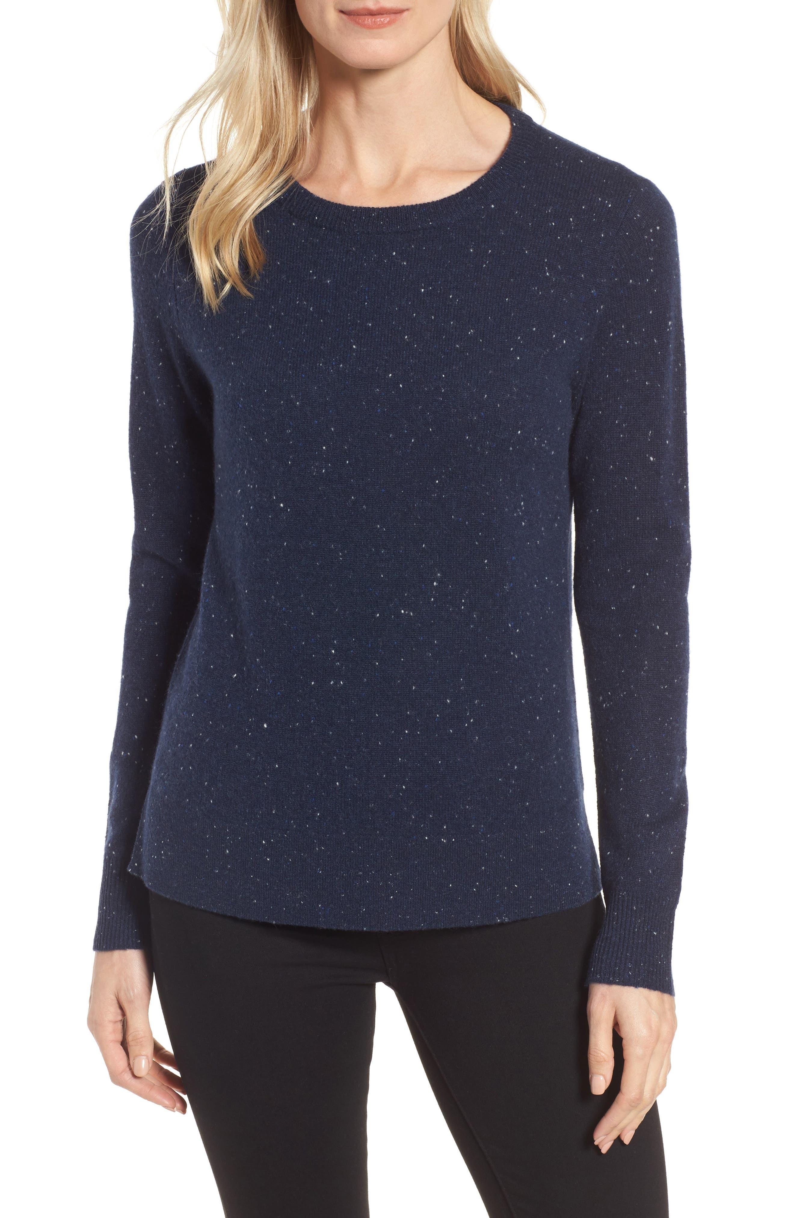 ,                             Crewneck Cashmere Sweater,                             Main thumbnail 92, color,                             410