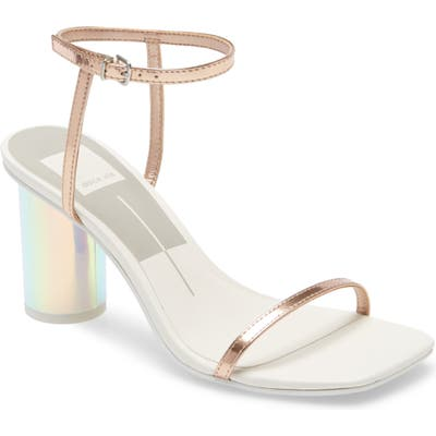 Dolce Vita Naomey Ankle Strap Sandal- Metallic