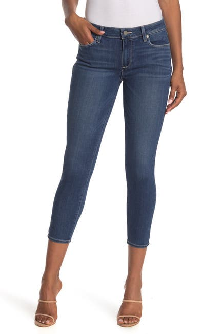 Image of PAIGE Verdugo Crop Skinny Jeans