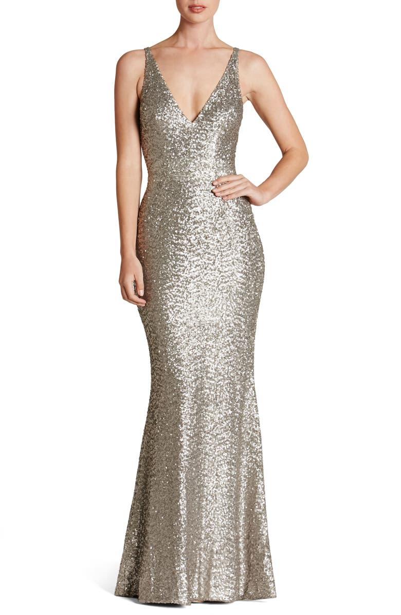 bdb3ce0214bb Dress the Population Harper Mermaid Gown | Nordstrom