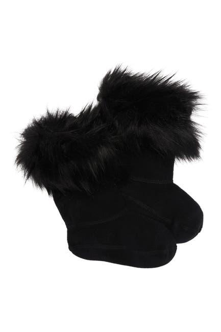 Image of Hunter Faux Fur Cuff Boot Sock