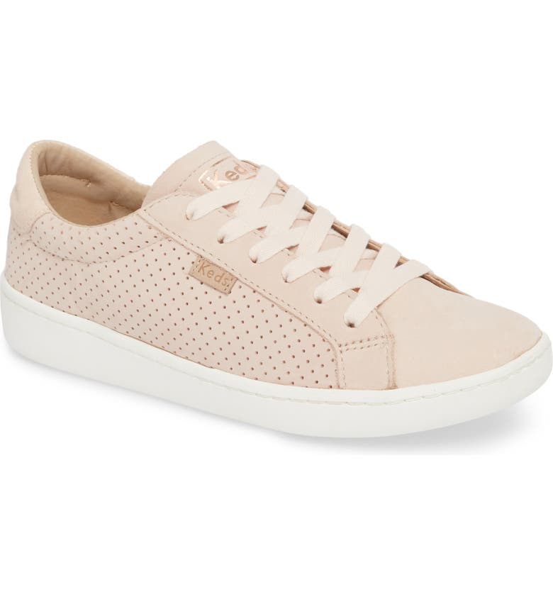 KEDS<SUP>®</SUP> x Designlovefest Ace Perf Leather Sneaker, Main, color, 650